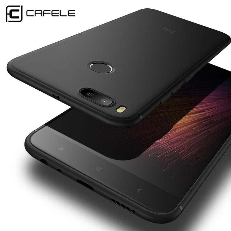 Cafele Matte TPU Phone Case for Xiaomi MI 5X ( A1) Ultra-thin 0.6mm Anti-fingerprint TPU Cover for Xiaomi A1