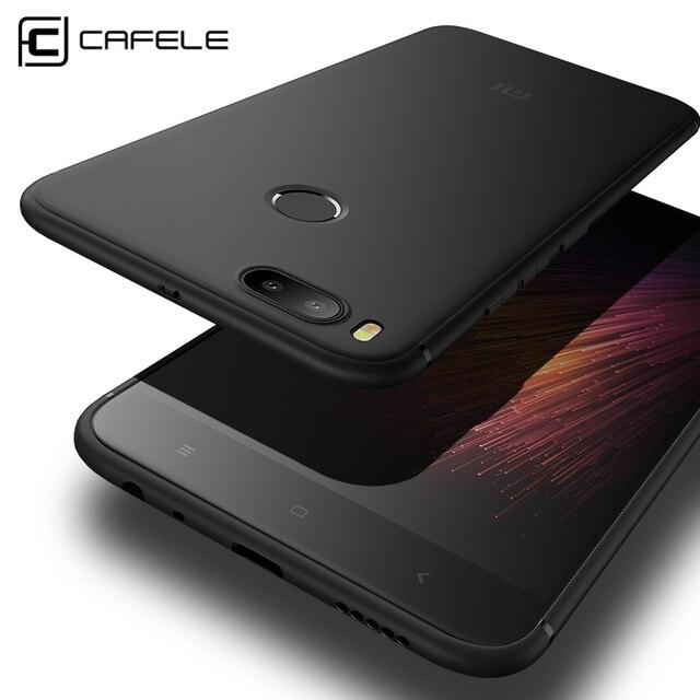 innovative design c0316 0a1e1 Cafele Matte TPU Phone Case for Xiaomi MI 5X ( A1) Ultra-thin 0.6mm  Anti-fingerprint TPU Cover for Xiaomi A1
