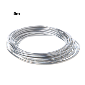 Image 5 - 50cm 3m 5m 10m Solder Wire For Welding Wires Condenser Car Air Conditioning Refrigerator Low Temperature Aluminum Electrode