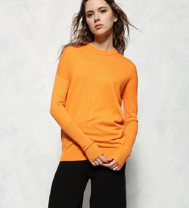 high quality New Fashion 2016 Designer Runway sweater font b women s b font wool knitted