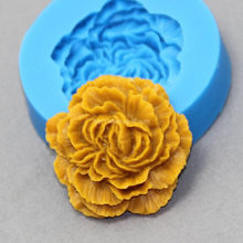 Силиконовые формы ручной работы в виде пиона цветов мыла 3d