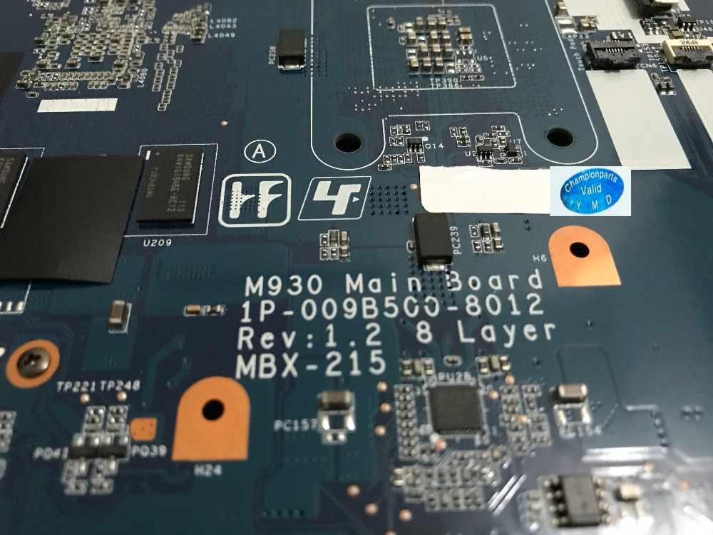 все цены на  FULLY TESTED MBX-215 M930 FREE SHIPPING LAPTOP MOTHERBOARD FOR SONY VPCF1 SERIES NOTEBOOK PC COMPARE BEFORE ORDER  онлайн