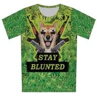 Plus Size XS 6XL 2016 Men Women Summer 6 Styles Tshirt Cat Dog Bird Print 3d