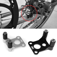 Folding bicycle low resistance rear derailleur DIP for brompton chain link parts ultralight 7.7g 2 colors