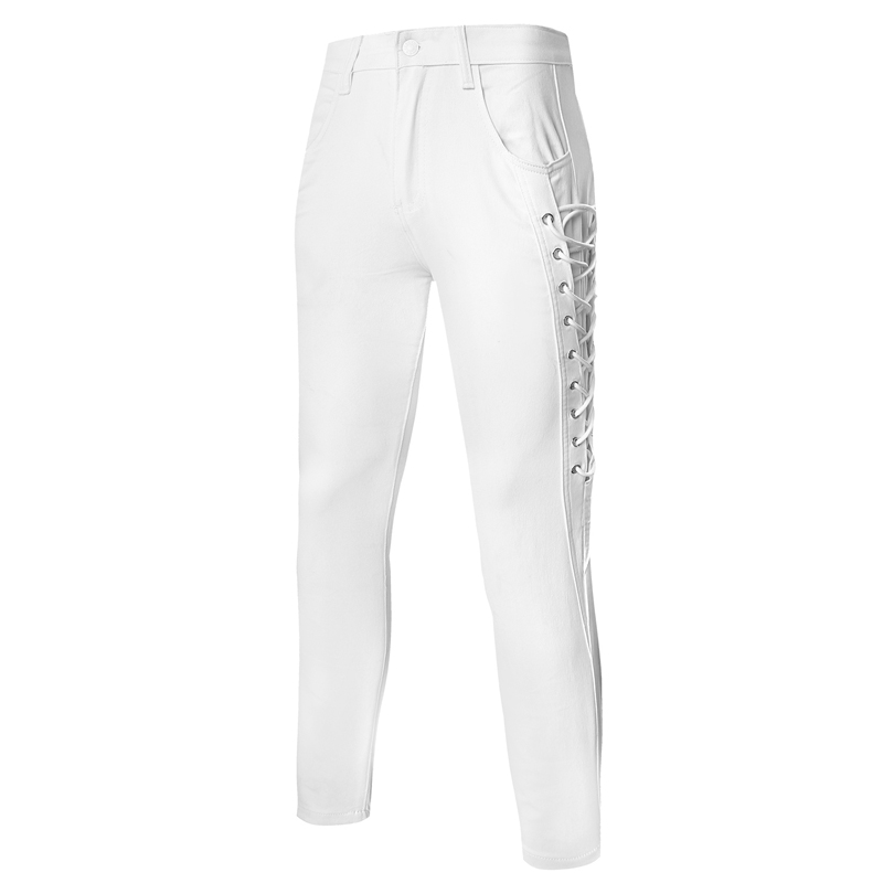 Popular White Mens Pants-Buy Cheap White Mens Pants lots from ...