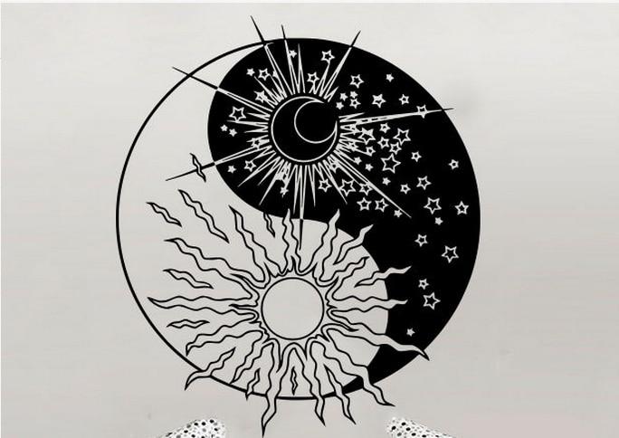 Anarima - ¿ Qué o Quién es ? - Página 4 Yoga-Wall-Decal-Sun-Moon-font-b-Sunshine-b-font-Stars-Crescent-Dual-Ethnic-font-b
