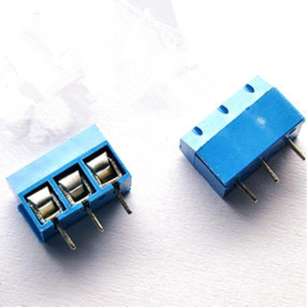 6 Pin Terminal Block Škoda 1j0973713: 10PCS 3 Pin Screw Terminal Block Connector 5mm Pitch KF301