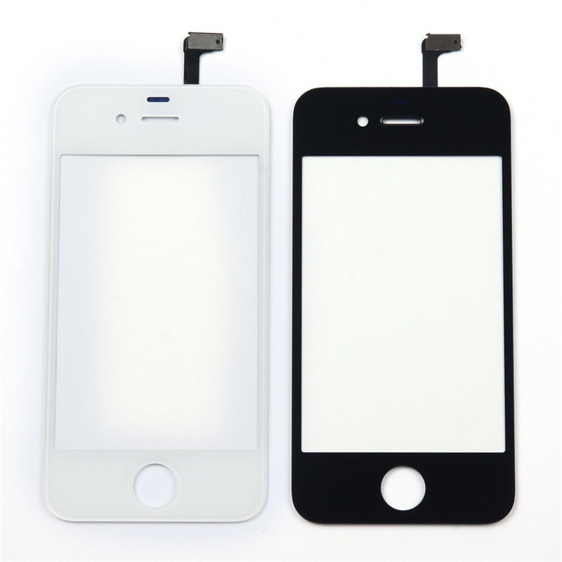 Joylink Front Lens Protector Digitizer Touch Screen Glass for iPhone 4S 5 5S 5C 5g 6 6S Plus Replacement,Not with Tool, Not LCD
