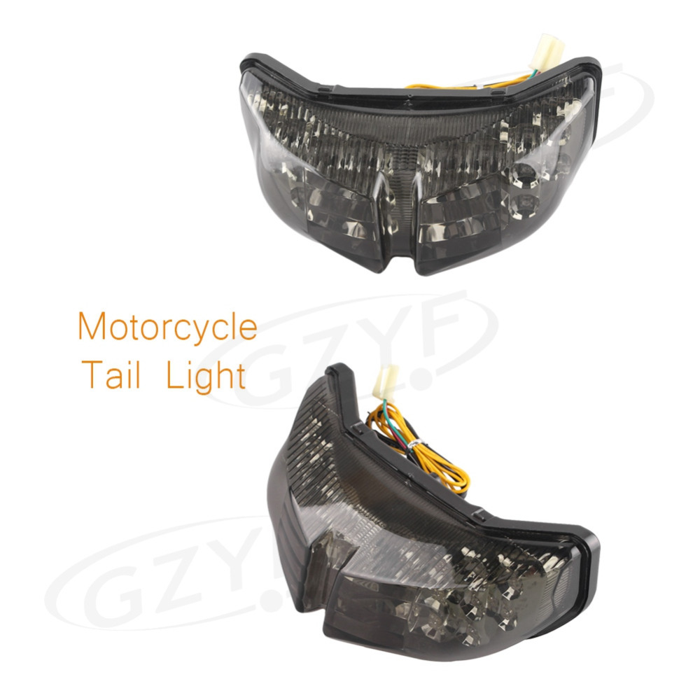 For YAMAHA FZ1 FZ8 2006 2012 Integrated LED Rear Taillight Tail Light Turn Signal Smoke