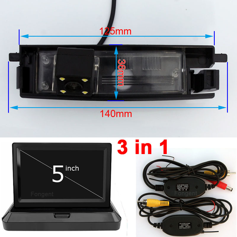 rear view reverse parking camera monitor for toyota rav4 2000 2001vehicle rear view auto back up off reverse parking rearview wireless camera car monitors for toyota