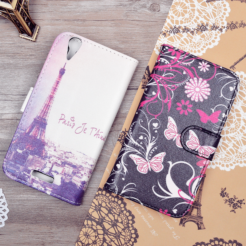 Luxury Filp Leather Cover For ZTE font b Geek b font V975 Wallet Stand Cover For