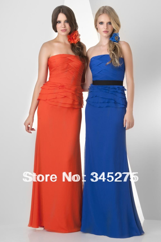 Bridesmaid dresses blue and orange fashion dresses bridesmaid dresses blue and orange ombrellifo Gallery