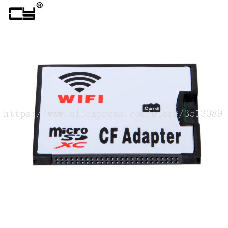 WIFI Adapter Memory Card TF Micro SD to CF Compact Flash Card Kit for Digital Camera compact flash cf to pc card pcmcia adapter cards reader for laptop notebook z17 drop ship