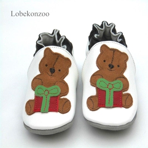 Image 5 - Lobekonzoo  hot sell baby boy shoes  Guaranteed 100% soft soled Genuine Leather baby First walkers for boys   infant boy shoes
