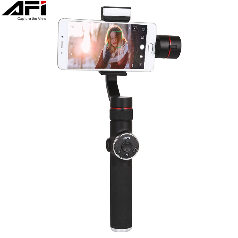 AFI V5 3 Axis Gimball Stabilizer For Phone Handheld Smartphone Gimbal For Iphone X 8 Xiaomi