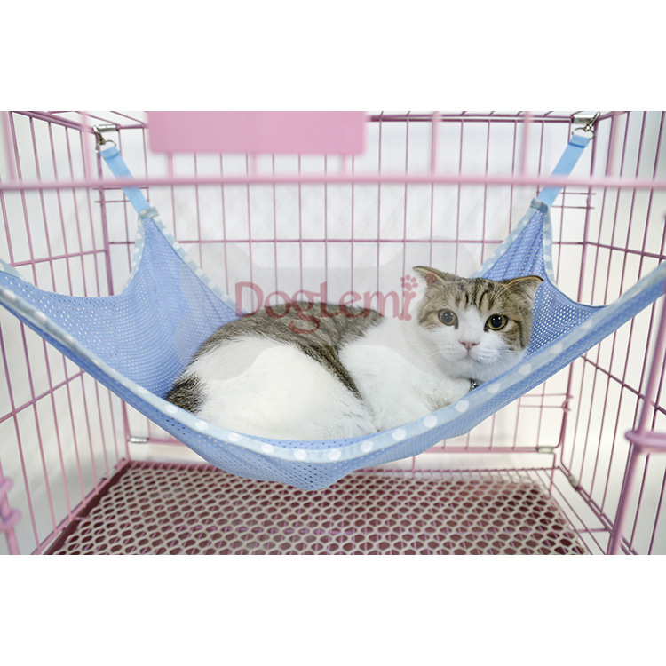 Cat Beds & Mats Fashion Style Doglime Cat Supplies Beds/mats Cat Hammock Breathable Mesh Cage Pet Hammock Spring And Summer Hanging Cat Litter Jun8 Home & Garden