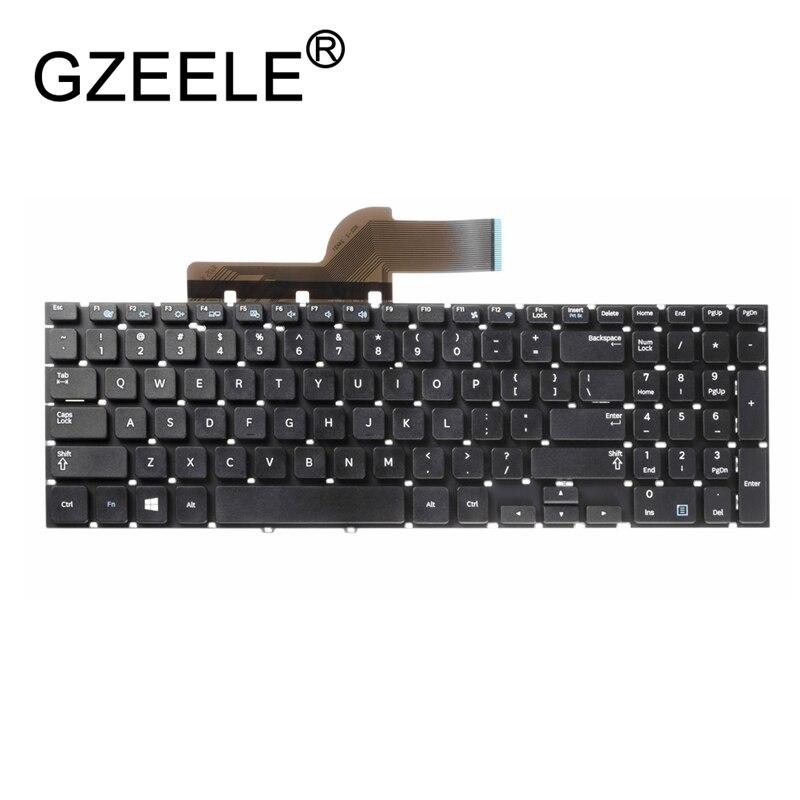 GZEELE Keyboard for Samsung NP300E5V-A03 355V5C 350V5C 550P5C 270E5V 275E5V 300E5V 270E5U Laptop / Notebook QWERTY US English