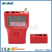 Multi RJ45 RJ11 USB BNC 1394 Cable Tester