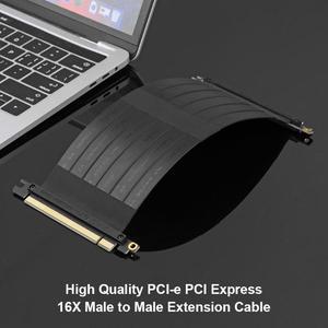 Image 2 - VODOOL высокоскоростные гибкие кабели PCI E Gen3 PCI E Express 16X кабель удлинитель для переходных карт для шасси 1U, 2U
