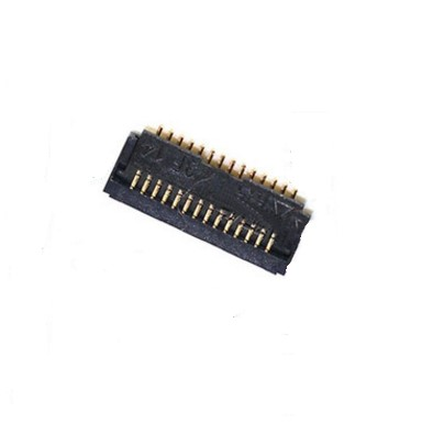 100pcs lot Original new home button flex cable FPC connector clip plug on motherboard For iPad