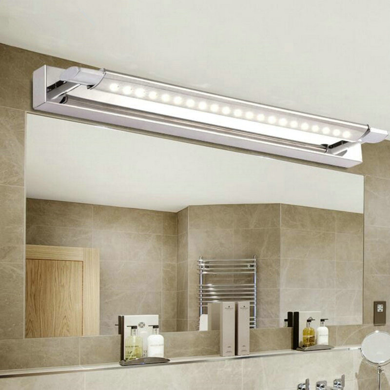Free shipping, High Quality 5W 8W 9W COB LED Mirror Front Wall Lights AC85~265V Modern Brief Bathroom LED Wall Lamp