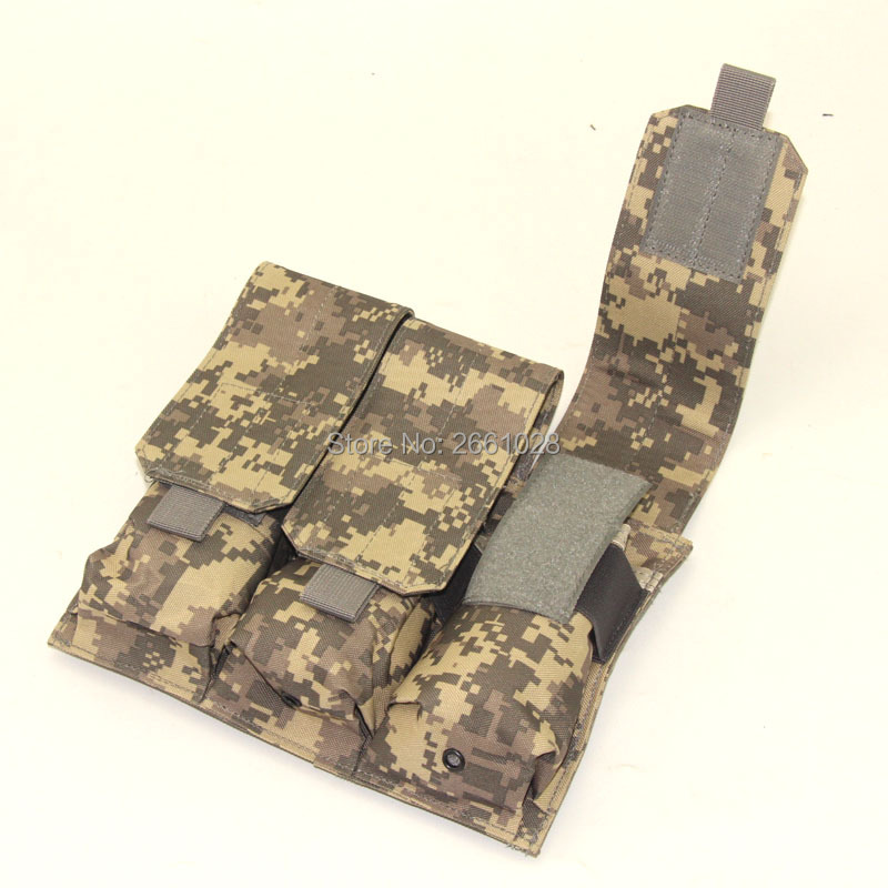 Tactical Magazine Pouch Modular Triple Open Top Airsoft Military Paintball MAG Pouches Magazine Holster Vest Accessories
