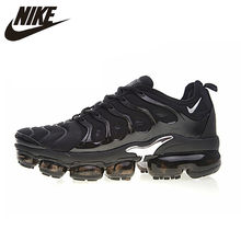 Original Authentic Nike Air Vapormax Plus TM Men's Running Shoes Outdoor Sneakers Comfortable Breathable 2018 New Arrival 924453(China)