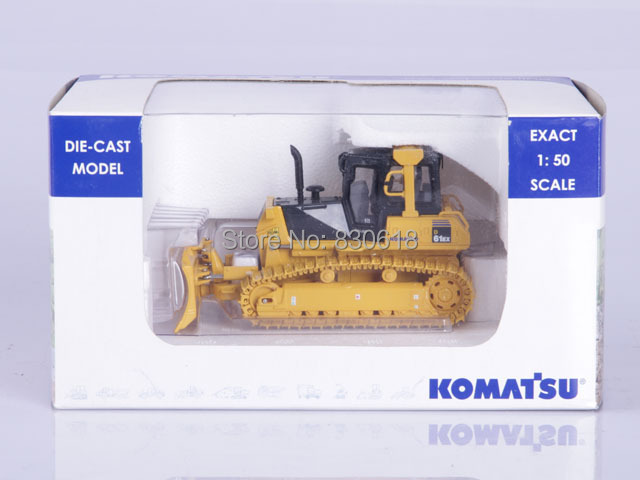 UH8000 Komatsu D61EX Construction bulldozer Universal Hobbies Collection 1:50 Diecast Construction vehicles Toy