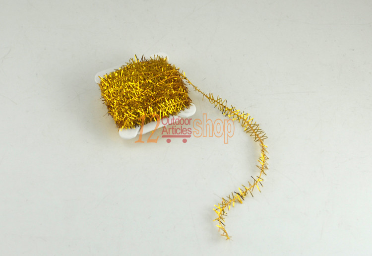 MNFT 9 Colors 18Cards 180M / Lot Fly Fishing Tinsel Chenille Crystal Flash Set Fly Tying DIY Flies Flying Fishing Material L180