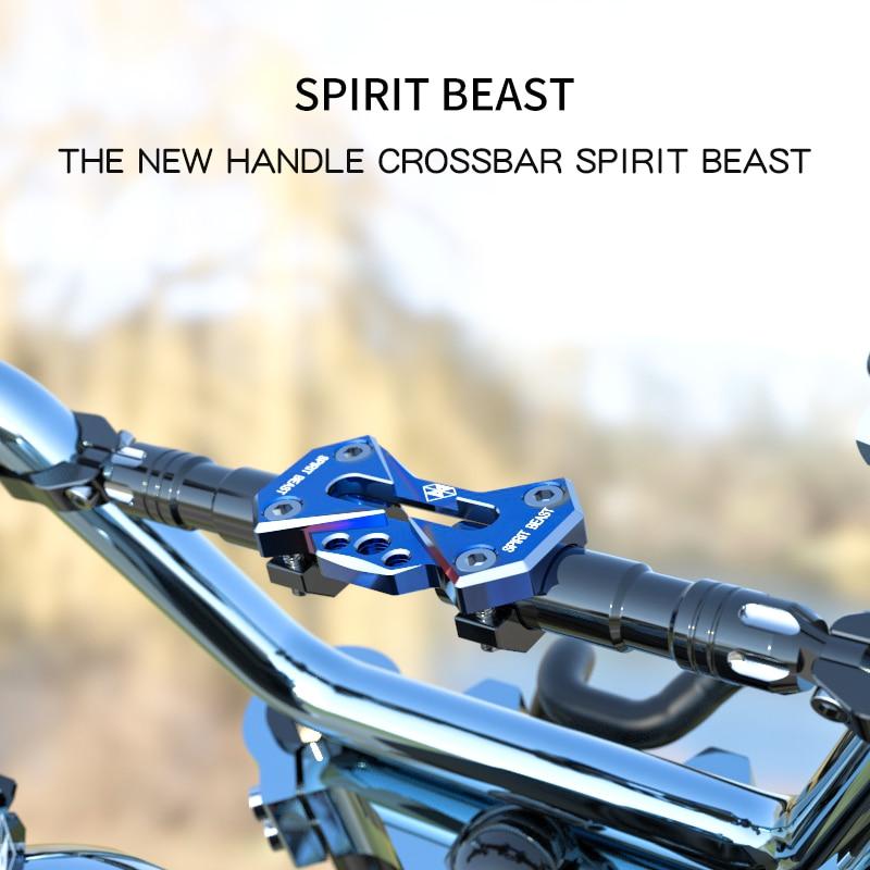 SPIRIT BEAST Motosiklet dəyişdirilmiş aksesuarlar sükan çubuğu sapı tənzimlənən balans çubuğu möhkəmləndirmə çubuğu
