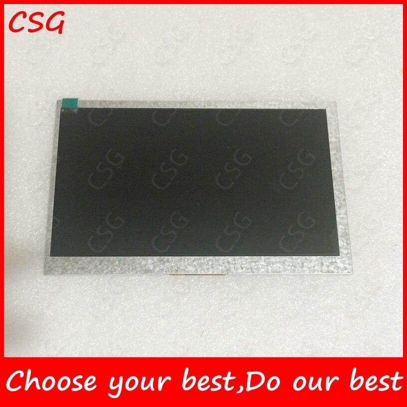 7inch 60Pins LCD Screen XC-JP0760 for Allwinner A13 A10 Q8 Q88 MZ82 GB880 tablet pc LCD Panel LCd Display XC JP0760 original 7 inch 163 97mm hd 1024 600 lcd for cube u25gt tablet pc lcd screen display panel glass free shipping