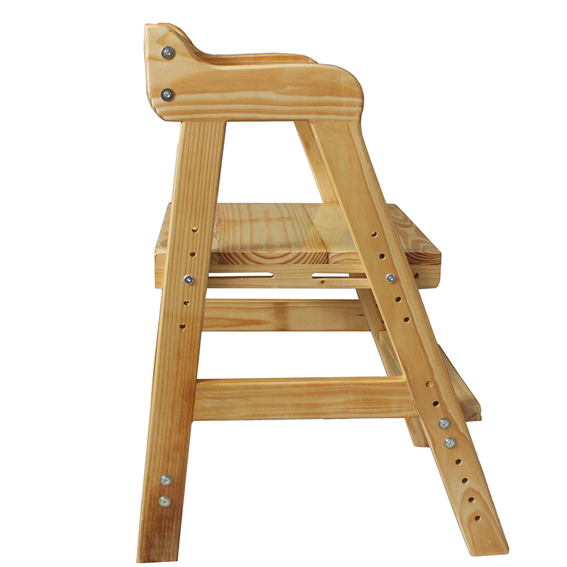 Multifunction Wooden Kids Study Chair Household Lifted Dining Chair with Cushion Children Writing Stool Corrective Posture ChairMultifunction Wooden Kids Study Chair Household Lifted Dining Chair with Cushion Children Writing Stool Corrective Posture Chair