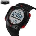 Nueva marca sanda hombres reloj multifunción led digital relojes de lujo para los hombres de las señoras reloj mujeres hombres reloj de pulsera reloj deportivo