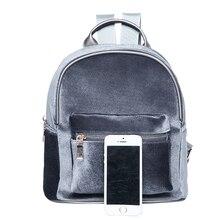 Women Mini Velvet Backpack Designer High Quality