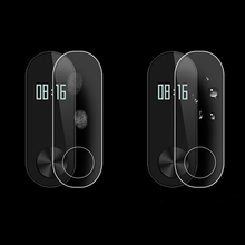 Centechia Protective Film For Xiaomi Mi Band 2 Band2 Screen Protector HD Ultra Thin Anti-scratch Protective Film Guard 2Pcs/Lot