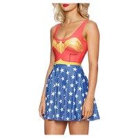 Adulte Superman Costumes Rouge Bleu Superhero Robes Costumes Super Hero Cape Pour Femme Cosplay Halloween Costumes Pour Femmes Robe
