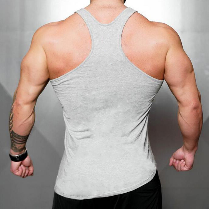 Brand 2018 fitness clothing Gyms tank top men canotta bodybuilding tshirt sleeveless singlet Muscle Vest Sportwear tanktop
