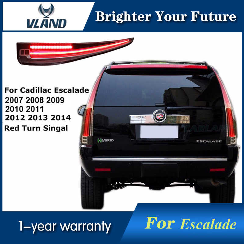 Vland LED Tail Lights Fits Cadillac Escalade ESV 2007 14 LED