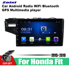 ZaiXi car gps multimedia player For Honda Fit 2015~2019 car Android navigation raido video audio player stereo audio wifi цена