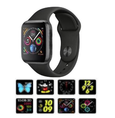 Relogios IWO 8 Smartwatch 44 мм корпус часов серии 4 для Xiaomi samsung с напоминанием о звонке, совместимый с iphone 6 7 8 X