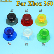 ChengHaoRan 100pcs Transparent controller for Xbox 360 Wired / Wireless Controller  Sticks Cap Gamepad Grips Cover 22color