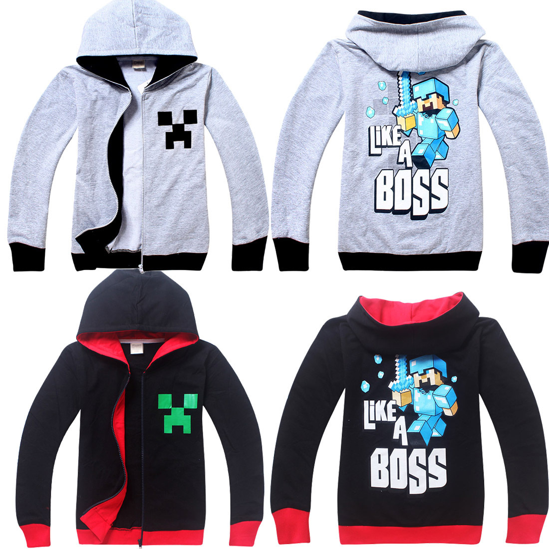 The hottest of the moment, my world children's hoodie, suitable for middle-aged children, all sizes.