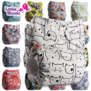 Cover Inserts Nappy-Diaper Pocket Potty Real-Cloth Washable Bloomz Baby Littles To Birth