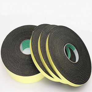 Image 4 - Strong adhesion  EVA black sponge foam  rubber tape  anti collision seal strip 1, 2, 3mm thick