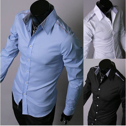 Long Sleeve Cotton Shirts Men | Is Shirt