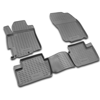 Carpet mats interior For MITSUBISHI Lancer X 03/2007 >, 4 PCs (polyurethane)