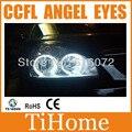 Free envio ccfl anjo olhos anéis de halo anéis kit não projetor ccfl olhos do carro para lada priora
