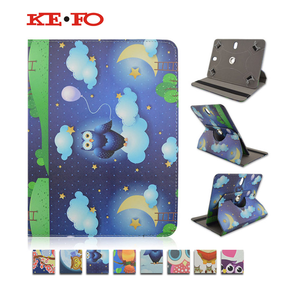 360 Rotating Leather Case Stand Cover For 7.0 Inch Universal Android Tablet for Prestigio MultiPad Wize 3037 3G 7 inch bags