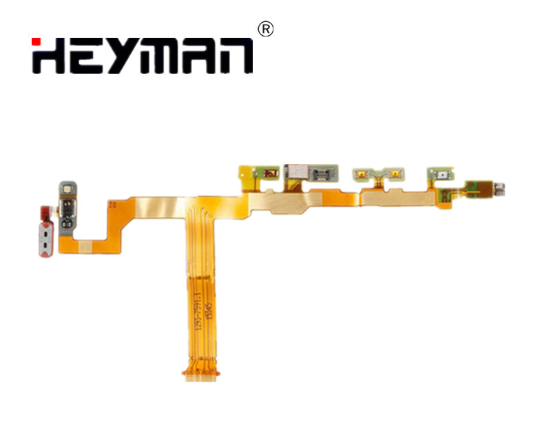 Side Button flex cable for <font><b>Sony</b></font> <font><b>Z5</b></font> Compact mini E5803 E5823 Compact <font><b>Motherboard</b></font> Flex Cable Ribbon Replacement parts image