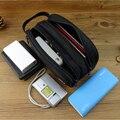 Grande Organizador Saco para Disco Rígido USB flash disk pen Drive cabos caso banco de potência para o caso de viagem saco de organza disco rígido GH1602